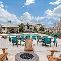 Bell Stonebriar Fire Pit and Pool